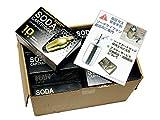 日本炭酸瓦斯ソーダサイフォン・ステンレスサイホン専用ソーダカートリッジ10本入りお徳用12箱セット