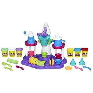 ハスブロ こむぎねんど プレイ・ドー ソフトクリームのお城 6色セット 【子ども 知育玩具 粘土】 Hasbro Play-Doh Ice Cream Castle B5523 正規品