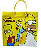 シンプソンズ【The Simpsons】PPショッピングバッグ (イエロー)