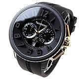 [テンデンス]Tendence 腕時計 ガリバーラウンドクロノ 【龍が如くコラボレーション666本限定モデル】 ブラック文字盤 TY046018 メンズ 【正規輸入品】