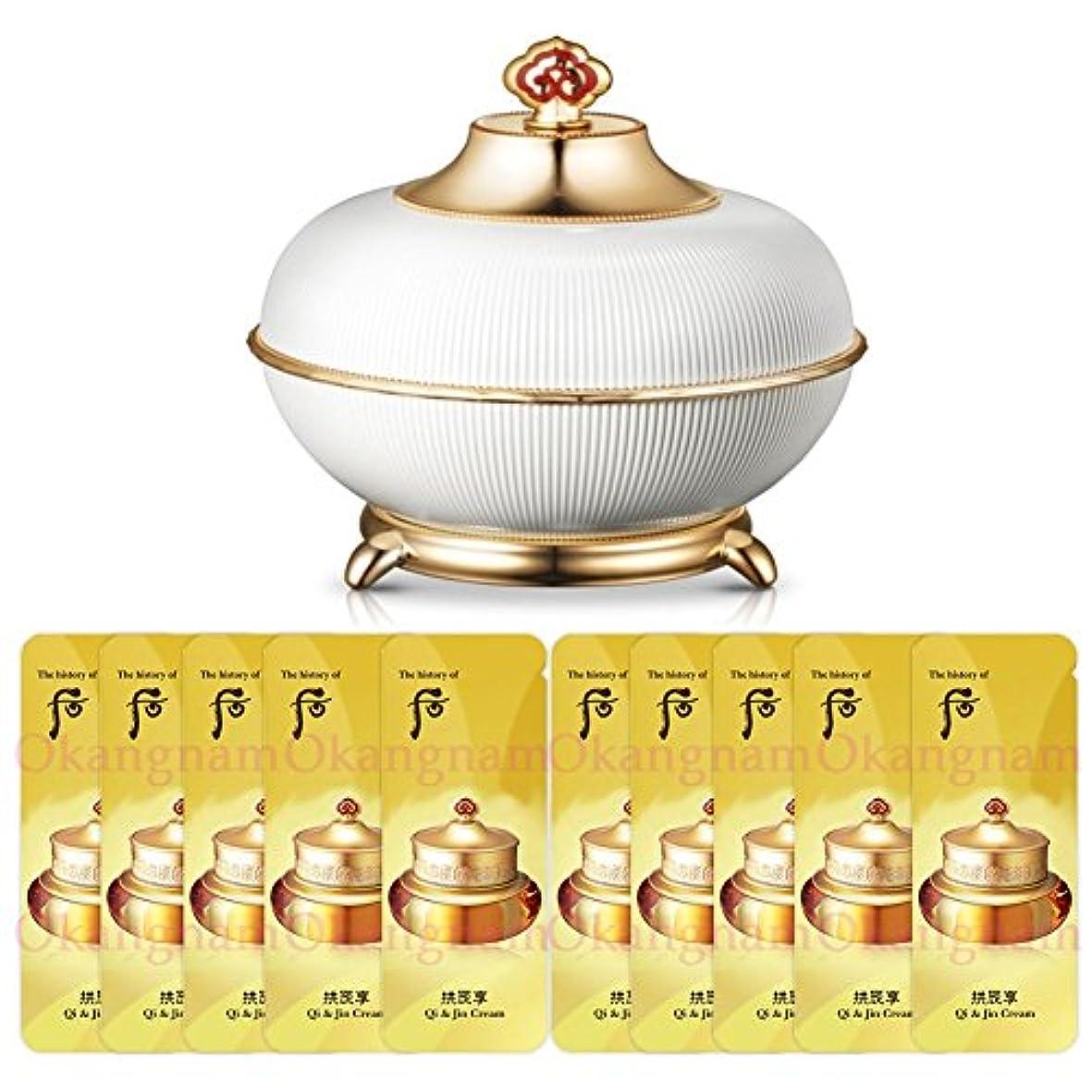 暴動貨物ナット【フー/The history of whoo] Whoo 后 MOH02 Secret Court Cream/后(フー) ミョンイヒャン ビダンゴ 50ml + [Sample Gift](海外直送品)