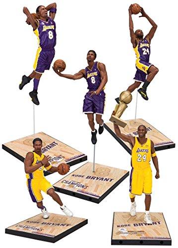 TMP NBA シリーズ コービー・ブライアント チャンピオンシリーズ 7インチ フィギュア 5種セット