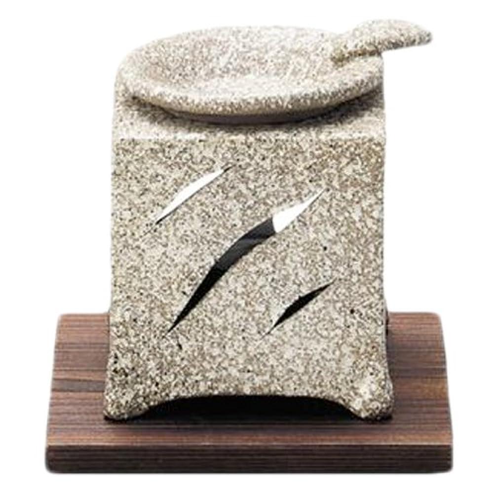 チャンピオン伝染性ペルセウス常滑焼5-261山房 石風角形茶香炉 AM-T1054
