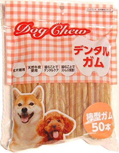 ペットケアー 犬用おやつ ドッグチュー棒型ガム 50本入
