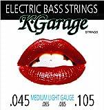 K-GARAGE エレキベース弦 ロングスケール ゲージ.045-.105 B/G