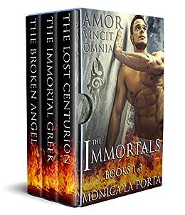 The Immortals - Books 1-3 (The Immortals Collection Book 1) by [Porta, Monica La]