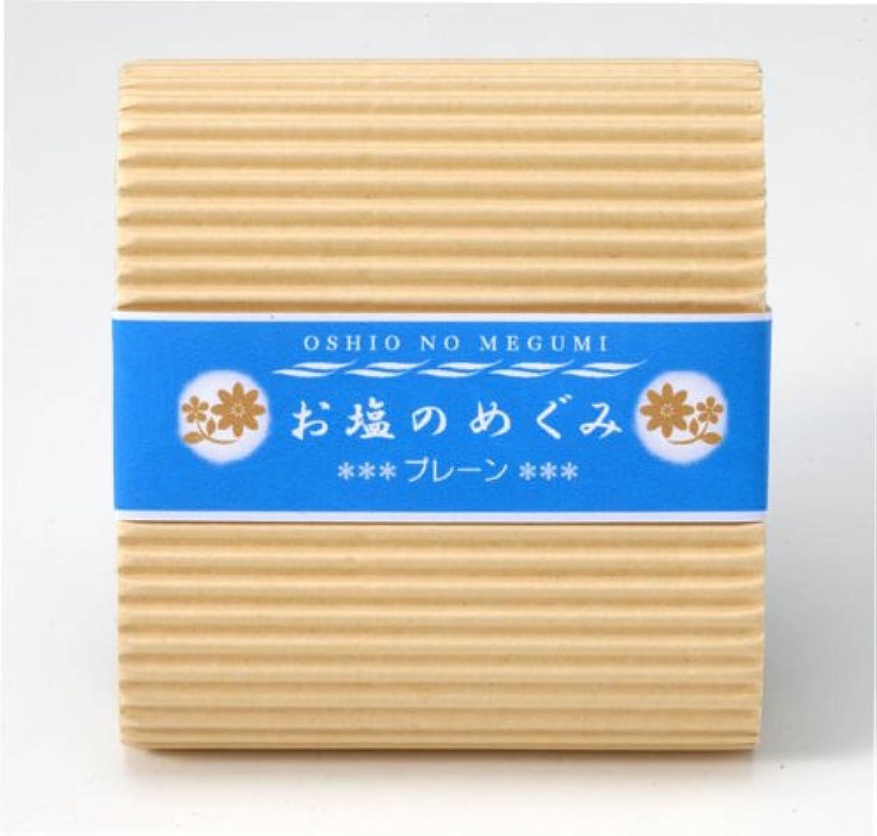 開梱アリ変色するお塩のめぐみ プレーン 90g