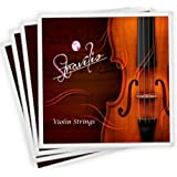 Full Set High Quality Violin Strings Size 1/2 & 1/4 Violin Strings G D A & E