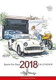 BOW。(SPORTS CAR DAYS) 2018カレンダー 壁掛け