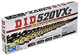 D.I.D(大同工業)バイク用チェーン カシメジョイント付属 520VX2-114ZB G&G(ゴールド) X-リング 二輪 オートバイ用