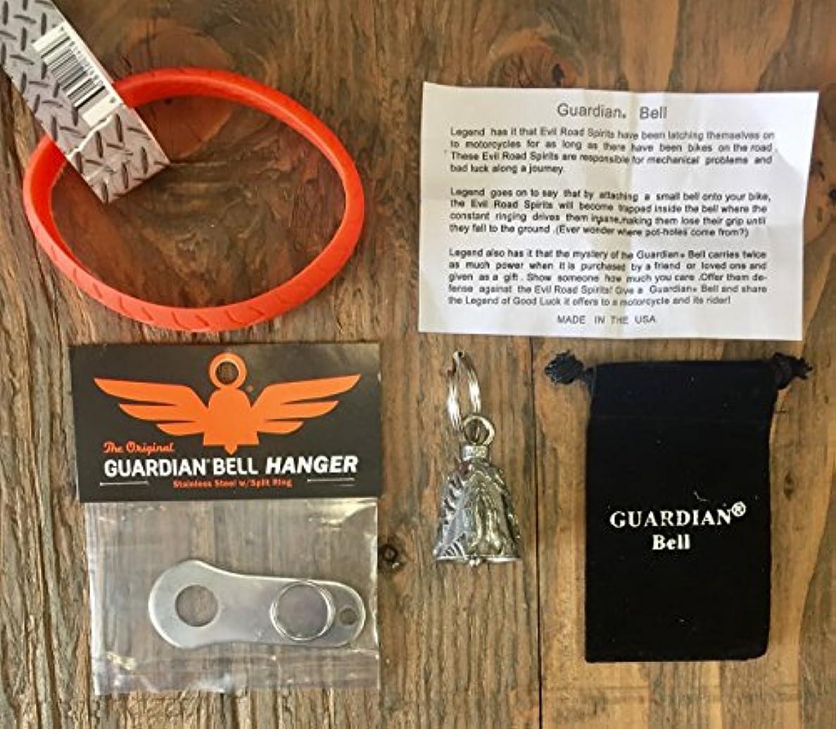 信者抵抗力がある潤滑するGuardian® Bell NAMASTE コンプリートキット ハンガーとリストバンド付き