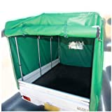 安心の日本製 【軽トラック用 荷台マット&幌セット】 集荷・配達・搬送に最適です。