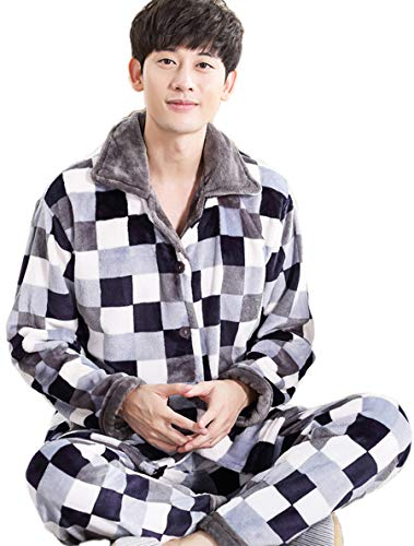 ade0cf9706ea3e Taomengsi 2019年メンズ ルームウェア もこもこ 暖かい 冬用 やわらかい マイクロファイバー ふわもこ 紳士