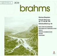 Brahms; a German Requiem etc.