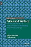 Prices and Welfare: An Introduction to the Measurement of Well-being when Prices Change 画像