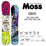 16-17 MOSS モス スノーボード EBIS エビス (EBIS, 140)