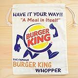 アメリカンロゴ巾着袋(L) バーガーキング Burger King LJK-L023