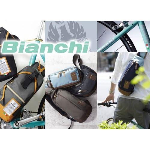 [ビアンキ]Bianchi ボディバッグ ワンショルダー ショルダーバッグ 斜め掛けバッグ メンズ レディース LBTC-01 (カーキ)