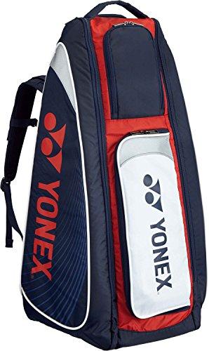 ヨネックス テニス スタンドバッグ リュック付 テニスラケット6本用 BAG1819 ネイビー レッド 097