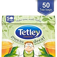 Tetley Decaff Pure Green Tea Bags (50) by Groceries [並行輸入品]