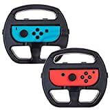 LANIAKEA Nintendo Switch Joy-Con ハンドルセット 2個セット ニンテンドースイッチ 任天堂スィッチ 敏感操作 着脱簡単 ブラック