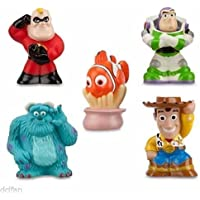 Disney Parks Bath Toys Including Woody, Nemo, Sully, Buzz, and Mr. Incredible by Disney [並行輸入品]