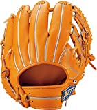 ZETT(ゼット) 硬式野球 ネオステイタス グラブ (グローブ) 内野手用 オレンジB(5600B) 右投げ用 日本製 BPGB12930