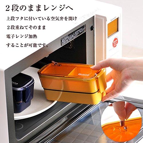 全てのパーツが電子レンジ・食洗機対応!徹底的に手間を省けるDELICATUSのランチボックス