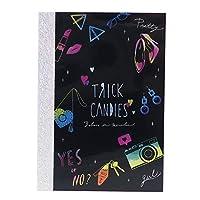 TRICK CANDIES[メモ帳]ホログラムネオンA7メモ/2018SS クラックス 文房具 かわいい グッズ 通販