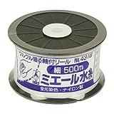 ミエール水糸ホワイト細500m