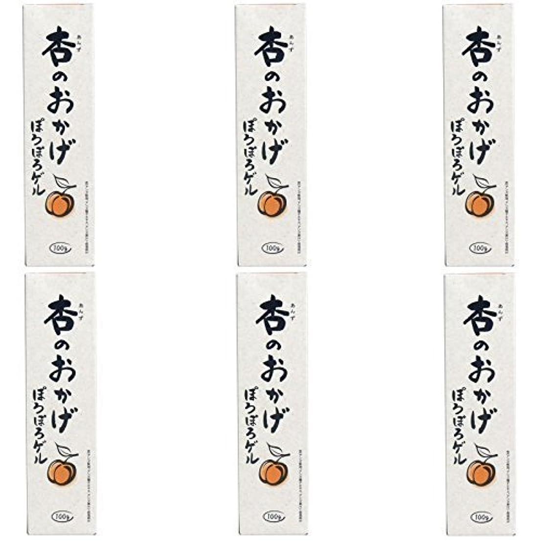 ツイン何よりもせっかち【まとめ買い】杏のおかげ ぽろぽろゲル 100g【×6個】