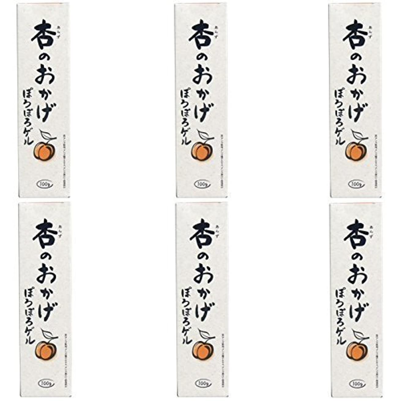 不透明な虐殺言及する【まとめ買い】杏のおかげ ぽろぽろゲル 100g【×6個】