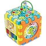 ビルディングブロックボックス六方ボックス玩具ジオメトリ認知ペアリングスマートキューブ玩具ジグソーパズル