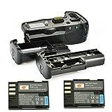 DSTE® プロ 互换 D-BG4 垂直 バッテリーグリップ + 2x D-LI90 のために Pentax ペンタックス K-5 K-7 K-5II K-5IIS カメラ