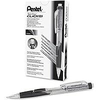 Pentel twist-erase Click Mechanical Pencil–Leadサイズ: 0.9MM–バレルColor :透明、ブラック–1各