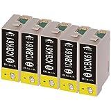 インク 【互換インク】 エプソン EPSON ICBK61 カートリッジ プリンターインク 汎用インク インクカートリッ…