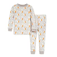 Burt's Bees Baby Baby Pajamas, Tee and Pant 2-Piece PJ Set, 100% Organic Cotton
