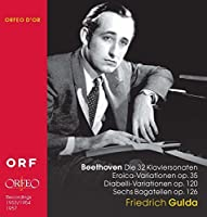 Beethoven: Friedrich Gulda 1953-7 by Friedrich Gulda (2010-07-16)