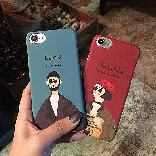 【LEON】おしゃれ かわいい カップル おそろい ペア iPhoneケース