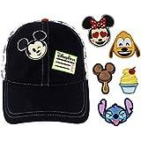 Disney Parks MickeyマウスChangeable絵文字野球キャップ帽子