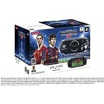 PSP「プレイステーション・ポータブル」 ウイニングイレブンxUEFA CHAMPIONS LEAGUE スペシャルパック (PSP-3000XUB) 【メーカー生産終了】
