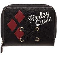 DC Comics Harley Quinn Juniors Lace Up Bi-Fold Wallet