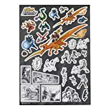 ポケモンセンターオリジナル ステッカー Pokémon EX Drawing -Yusuke Murata-