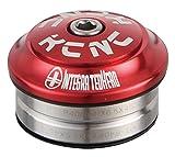 KCNC ヘッドセット オメガS1 インテグラル レッド 1-1/8 502112