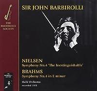 Brahms: Symphony No.4; Nielsen: Symphony No.4 by Halle Orchestra