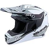 MSR エムエスアール SC-1 PHOENIX Helmet 2016モデル オフロード ヘルメット ホワイト/ブラック/シルバー XL(61~62cm)