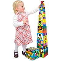 BLOCKS NEST/STACK 10PC by MELISSA & DOUG MfrPartNo 2782