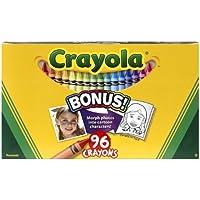 Crayolaクレヨン96 Perボックスwith組み込み削り器(パックof 3 ) 288クレヨンで合計