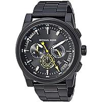 MICHAEL KORS Men's MK8600 Year-Round Chronograph Quartz Black Band Watch