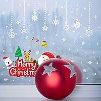 Onlymygodウォールステッカー新しいメリークリスマスチャームウィンドウウィンドウミステリー共同装飾かわいいステッカー装飾47x54cm